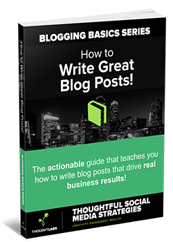 Blogging Basics - How to Write Great Blog Posts